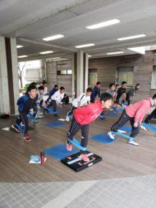 大野城市学生体幹トレーニング